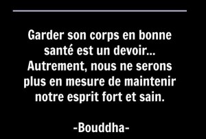 Bouddha citation