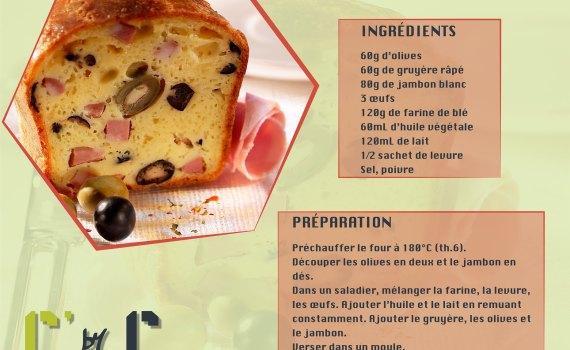 Cake Jambon