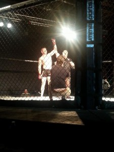 Patrick win for MMA fight 12-13