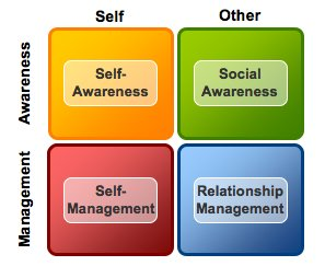 Emotional Intelligence quadrant