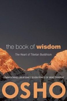 Afbeelding cover the book of wisdom door Osho op coachingmetsanne.com