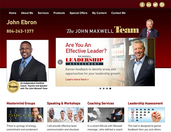 Website Tip to Engage Visitors for John