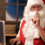 santa knows how to blog