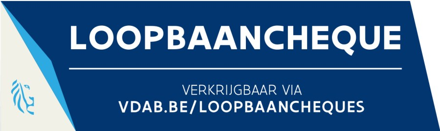Loopbaancheque_label