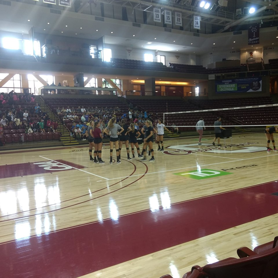 Volleyball Team Camp from College of Charleston