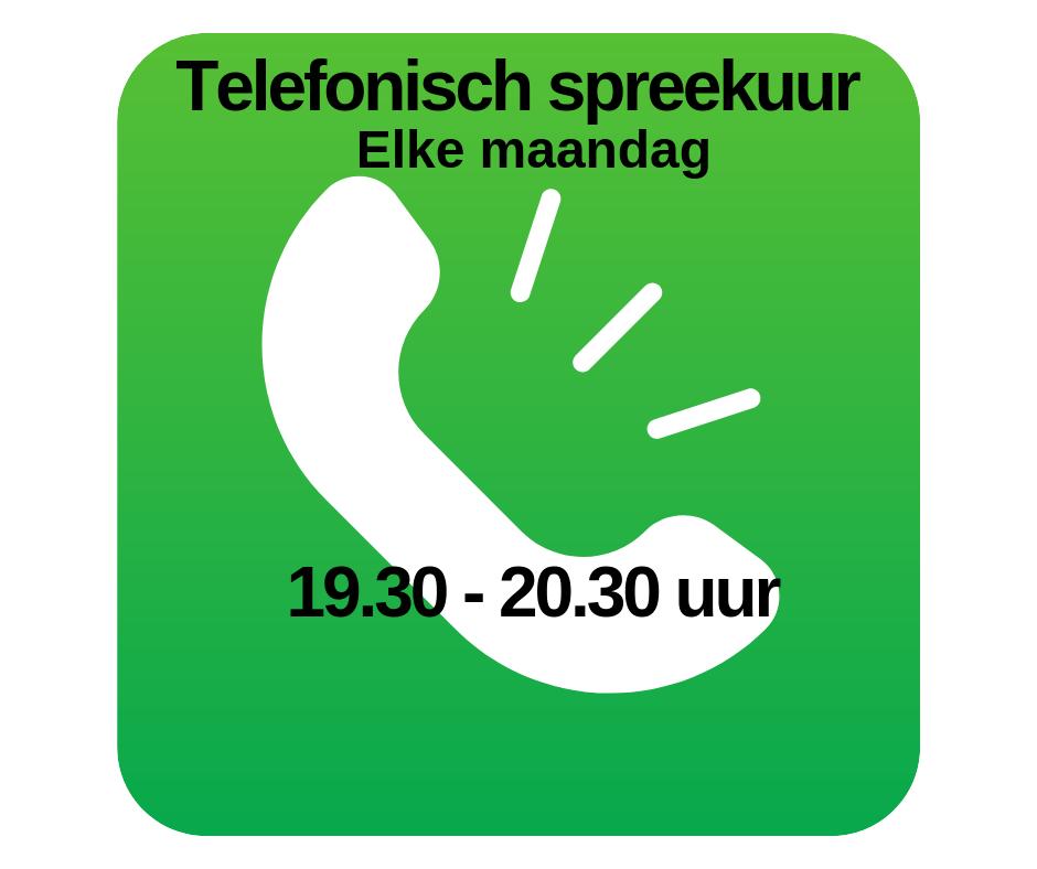 telefonisch spreekuur coaching Vitaal