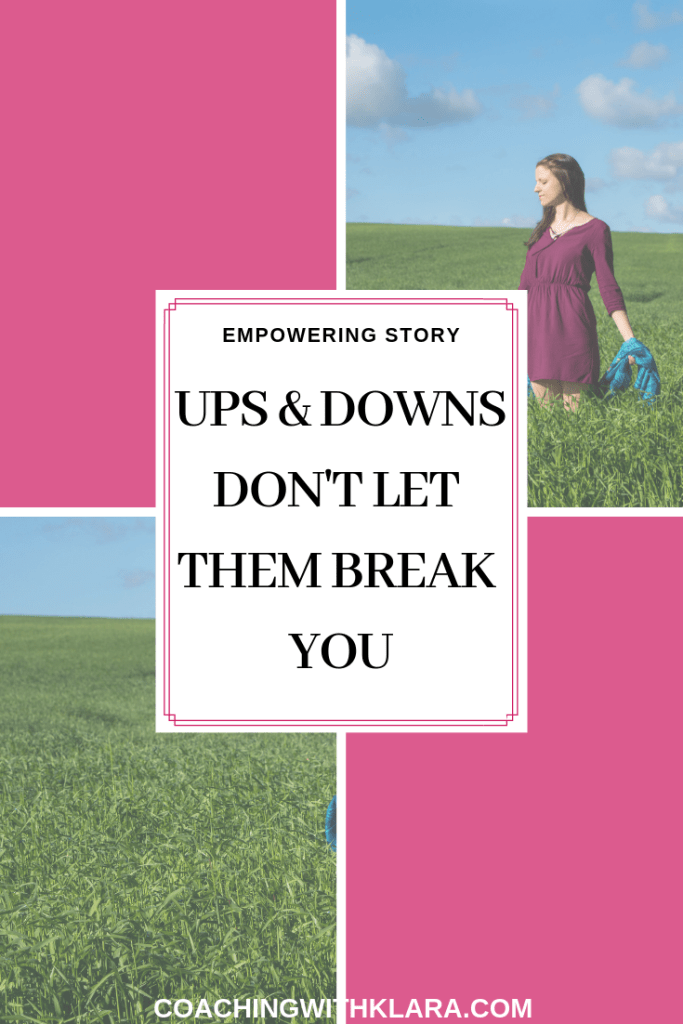 How I got from dark moments in my life feeling like the biggest failure to feeling abundant and happy again. An empowering story of a woman who once followed her dream and passion but ups and downs on her journey nearly broke her.