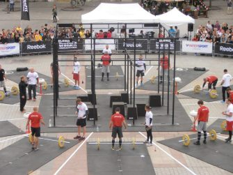 Reebok CrossFit Fitness Championship, September 2012, The Judge