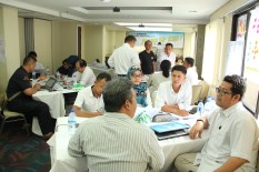 Rayspeed Courier Service Training with Thinking Tools Canvas