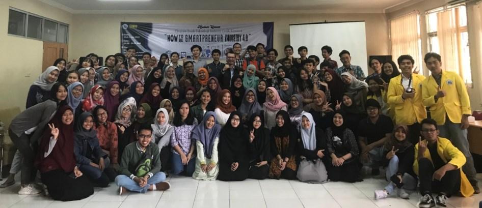 Sharing Bisnis di PNJ Depok 2019