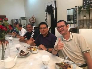 Coach Margetty bersama Nara Sumber Kang Yoto dan Pak Bupati Maluku Tenggara, Bpk. Muh. Thaher Hanubun