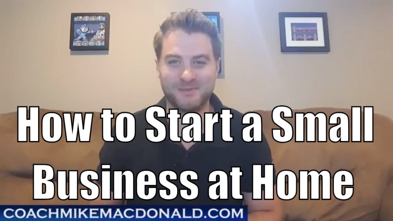 How To Start A Small Business At Home Steps On Starting A Small Business
