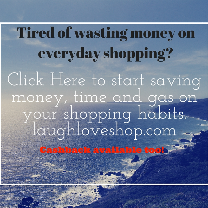 Click Here to start saving money, time and gas on your shopping habits.laughloveshop.com