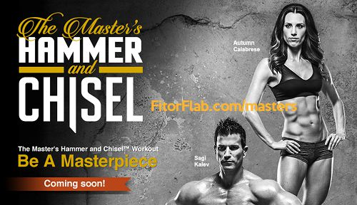 The Master's Hammer and Chisel - Beachbody - Coming soon