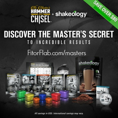 Masters Hammer and Chisel Challenge Pack Sale Jan 2016
