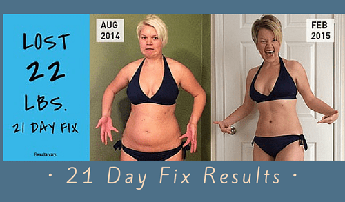 21 Day Fix weight loss