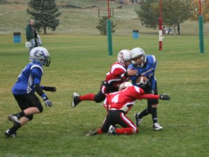 youth football defense