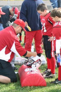 helmet award stciker stick
