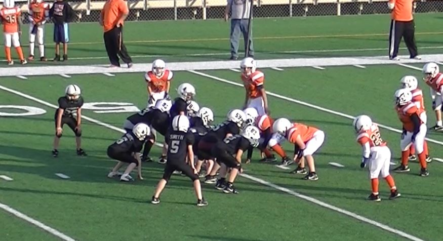 double wing plays for youth football
