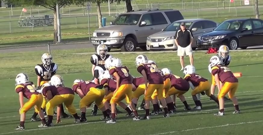 power i formation pee wee football