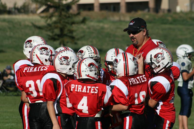coaching youth football basics
