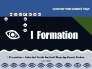 i formation youth football plays eBook cover