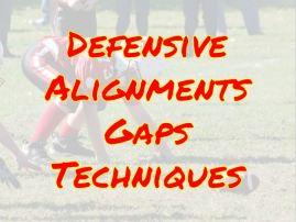 Defensive Gap Techniques
