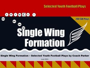 Single Wing Formation Youth Football Offense Plays Cover