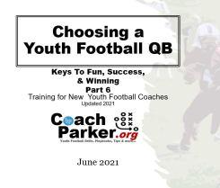 choosing youth football quarterback