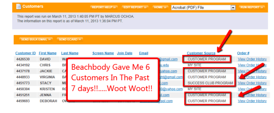 6 Free Customers In 7 Days!