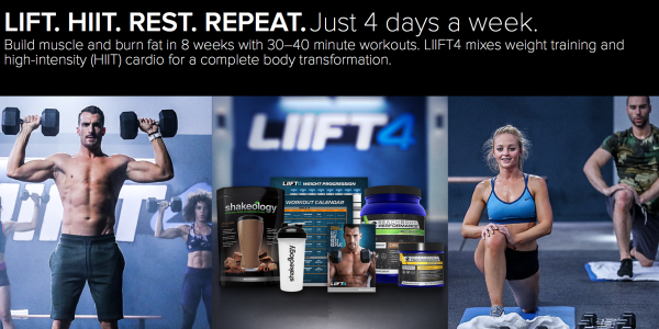 liift 4 workout