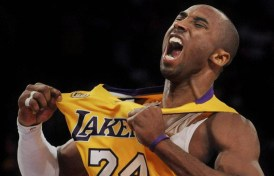 Kobe Bryant finishes his magnificent career this evening as the Lakers go for win number 17.