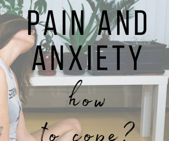 chronic pain and anxiety