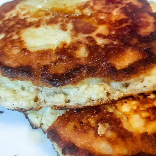 Low carb pancakes with almond flour
