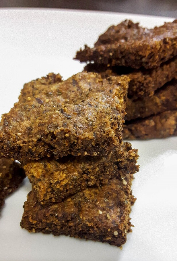 low carb flax crackers recipe