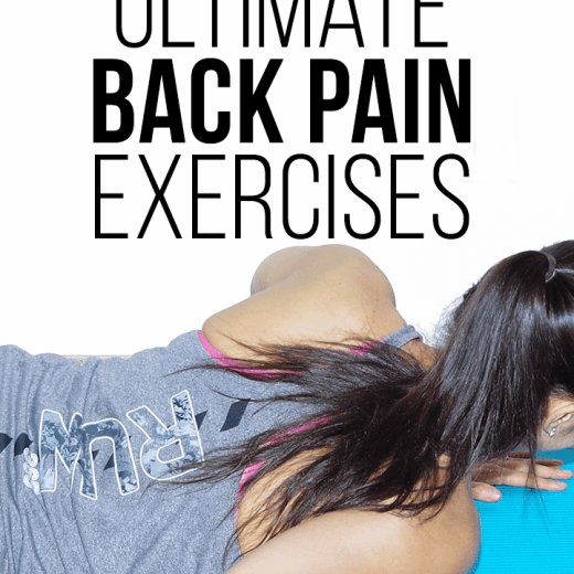 5 lower back pain exercises to do at home or in the office!