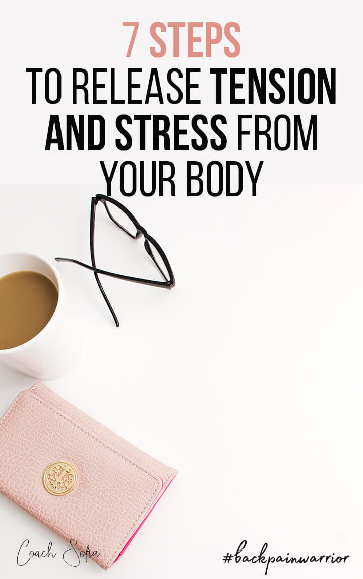 how to release tension and release stress from the body