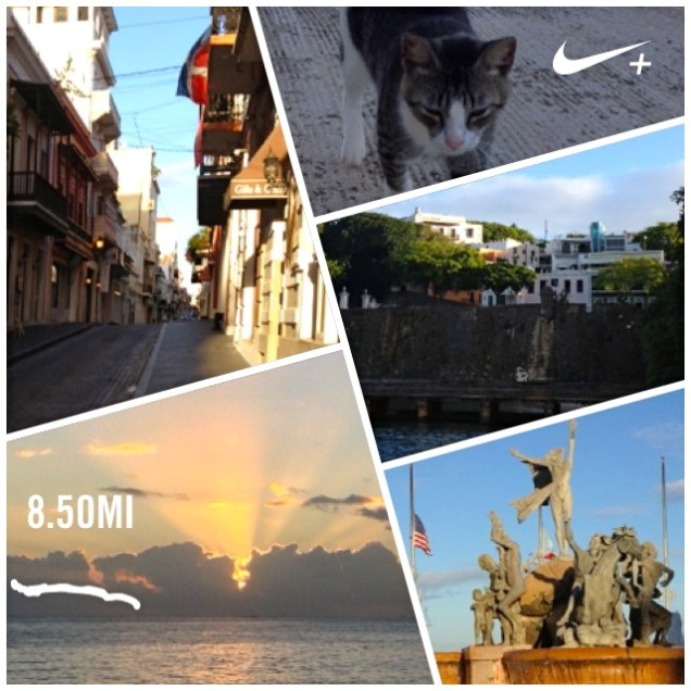 Collage of our Puerto Rican Long Run