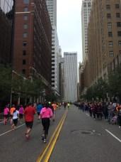 The final uphill Boston Ave push.