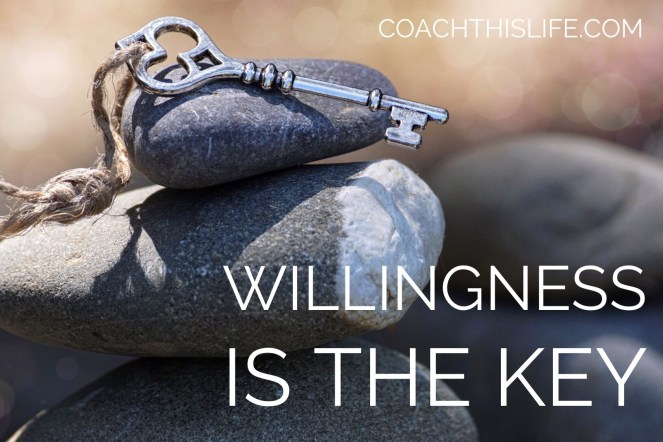 Willingness Is The Key