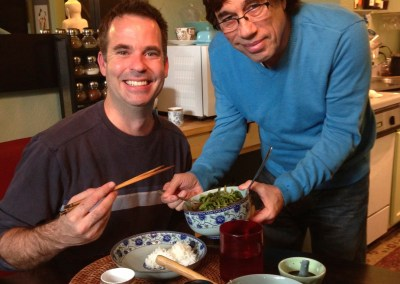 Rich likes to feed his clients, and Dean Dzurilla of The New Office likes to eat