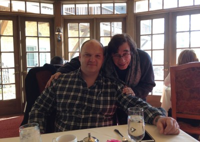 Out to dinner with Matt Kaseeska of Net Works.