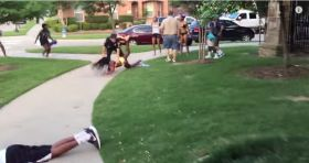 Officer suspended after video shows violent detention of teens at pool party in Texas