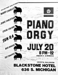 PIANO-ORGY