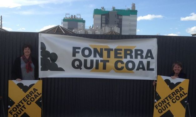 From Edendale to Auckland, They Came With One Message: Fonterra, Quit Coal