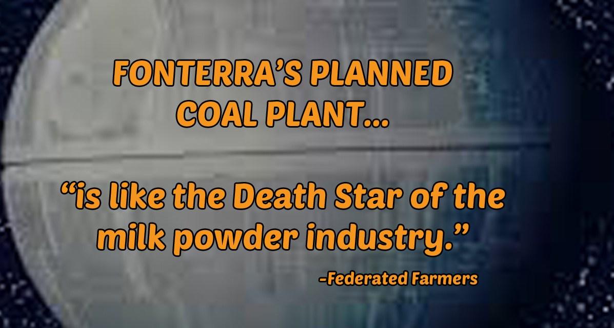 "Fonterra coal boiler decision ""ridiculous"""