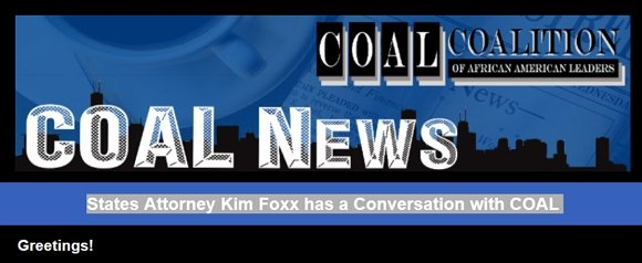 States Attorney Kim Foxx has a Conversation with COAL
