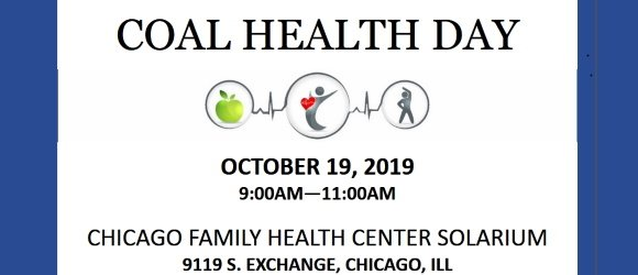 COAL Health Day - Oct. 19, 2019