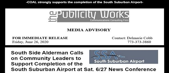 COAL Action - Complete the South Suburban Airport