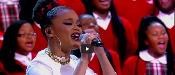 Featured Song for the Times v6 - Common, Andra Day Perform 'Stand Up For Something' / 'Rise Up' with Cardinal Shehan School Choir